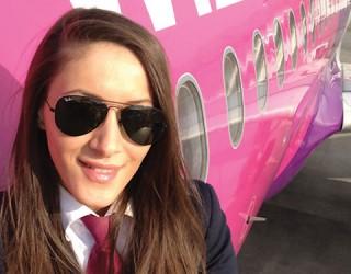 Андрея Литеску –  първата жена пилот на Wizz Air