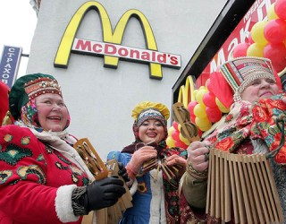 McDonald's  ПОД САНКЦИИ