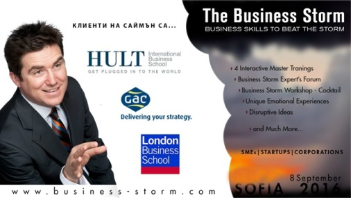 THE BUSINESS STORM