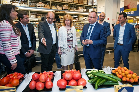 Picture 2 - METRO _Minister Porojanov's visit, 27.06.2017