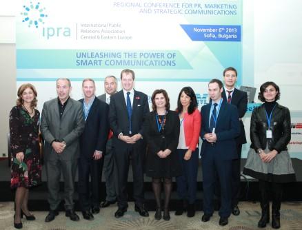 IPRA CEE Regional Conference 2013 - Sofia