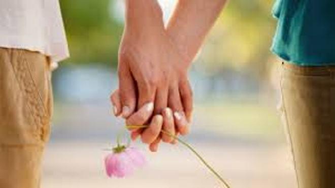 държане за ръце