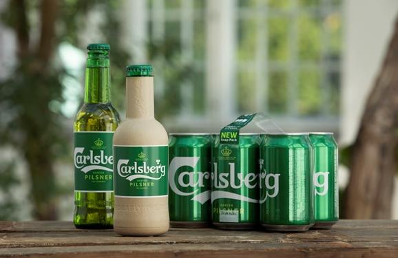 Carlsberg's sustainable packaging innovations