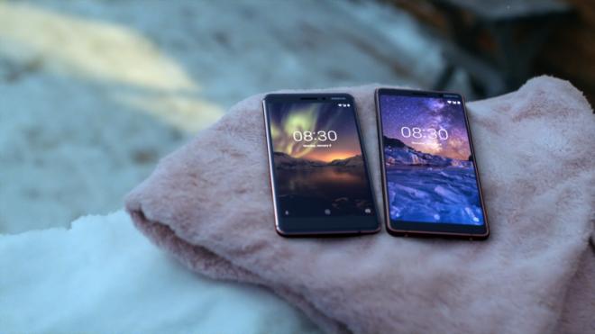 Nokia 6.1 & Nokia 7 plus