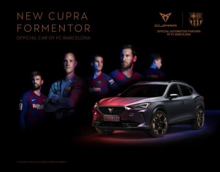 CUPRA Formentor става официален автомобил на ФК Барселона